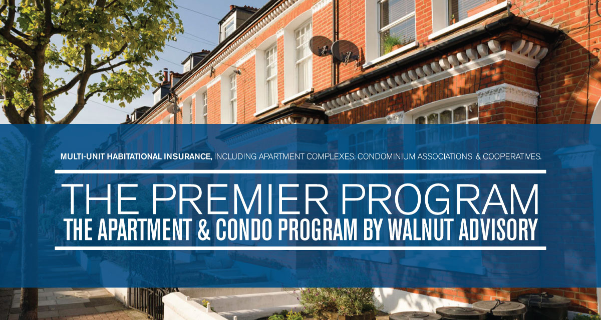 apartment and condo insurance program details